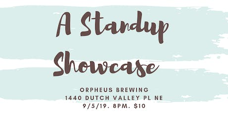 A StandUp Showcase  tickets