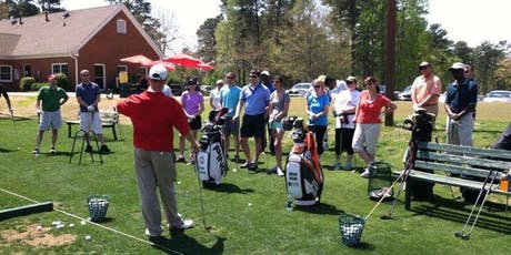 Wednesdy Evening Adult Beginner Golf Class 1- Co-Ed Classes tickets