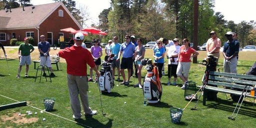 Wednesdy Evening Adult Beginner Golf Class 1- Co-Ed Classes