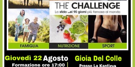 The Challenge Gioia Del Colle  tickets