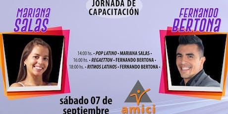 Jornada de Capacitación: Mariana Salas & Fernando Bertona entradas