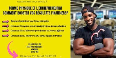 Forme Physique et Entrepreneuriat-Comment Booster Vos Résultats Financiers