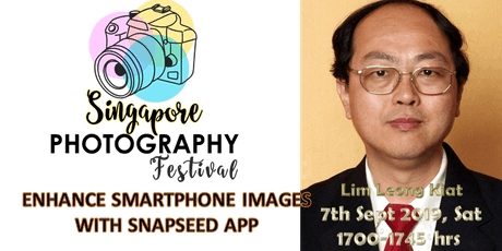 Seminar Talk : Enhance Smartphone Images with SNAPSEED App tickets
