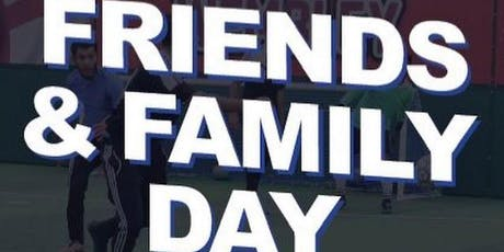 Friends & Family Day tickets