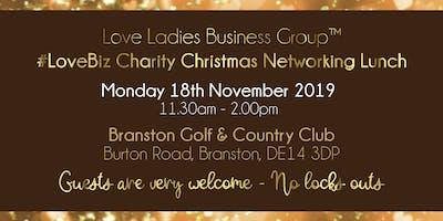 Burton #LoveBiz Christmas Networking Lunch Event