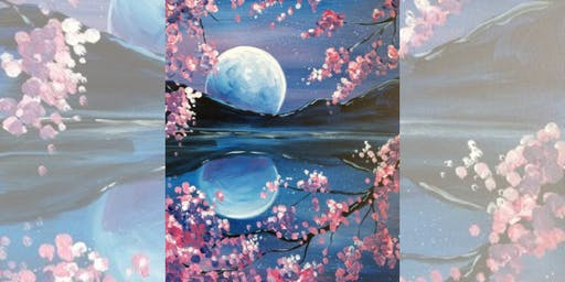 Brew N Brush: Cherry Blossom