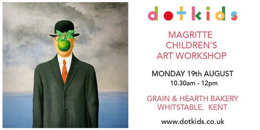 Magritte Children's Art Workshop (art class for kids)