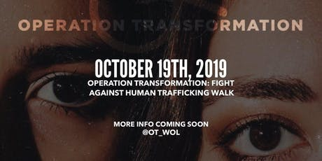 FIGHT AGAINST HUMAN TRAFFICKING WALK tickets