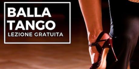 Lezione Gratuita - Balla il Tango biglietti