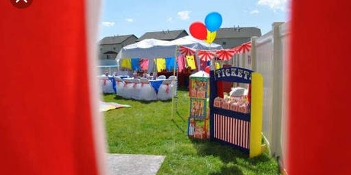Zion's carnival 5th Birthday Party