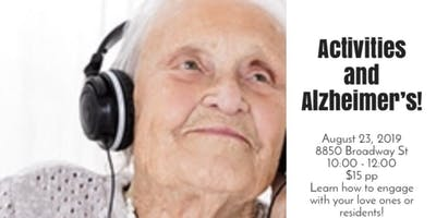 Activities and Alzheimer's