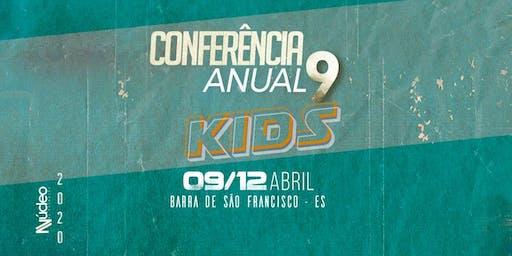Conferência Anual 9 Núcleo de Adoração KIDS
