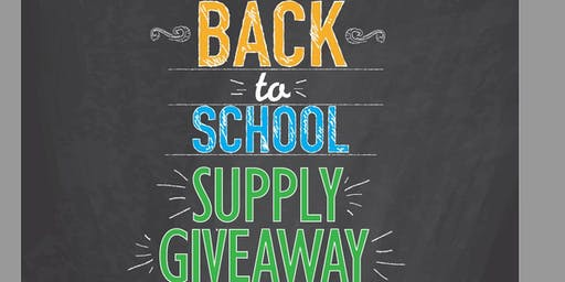 Back 2 School Bash & Supply Giveaway