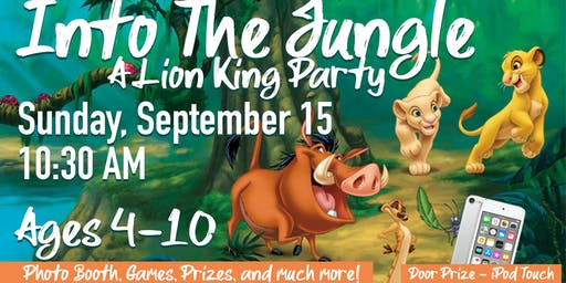 Into the Jungle: A Lion King Kids Party