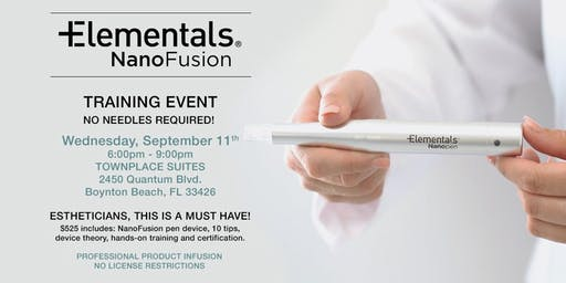 Advanced Esthetic Training - NanoPen Infusion Workshop