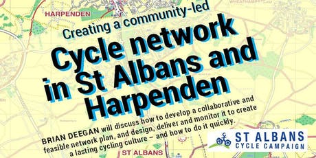 Cycle network In St Albans and Harpenden tickets