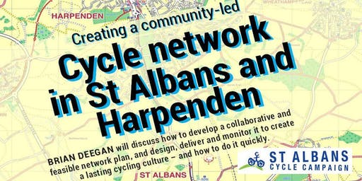 Cycle network In St Albans and Harpenden