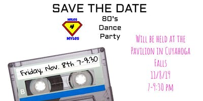 Family Friendly 80's Party - Fundraiser for Congenital Heart Defects Miles 4 Myles