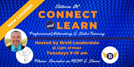 Catoosa, OK: Connect & Learn | Professional Networking and Sales Training tickets