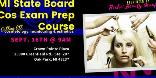 MI State Board Cos Exam Prep Course