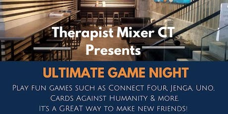 Game Night Mixer for Wellness and Mental Health Professionals tickets