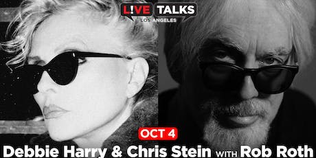 Debbie Harry & Chris Stein in conversation with Rob Roth tickets