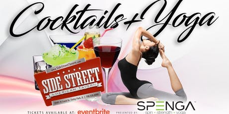 Cocktails + Yoga tickets