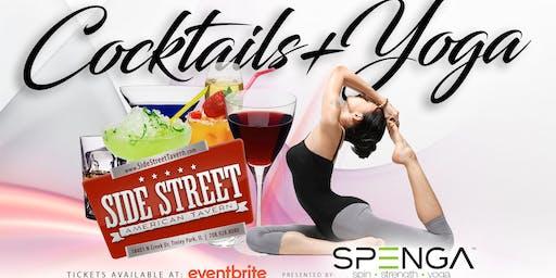Cocktails + Yoga