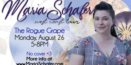 Maria Schafer on Tour at The Rogue Grape