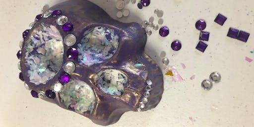 Skull Planter Painting Class
