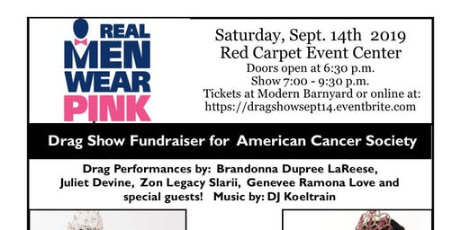 Drag Show Fundraiser Sat. Sept. 14th for the American Cancer Society!