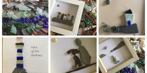Workshop: CREATE YOUR OWN PICTURE FROM SEA GLASS