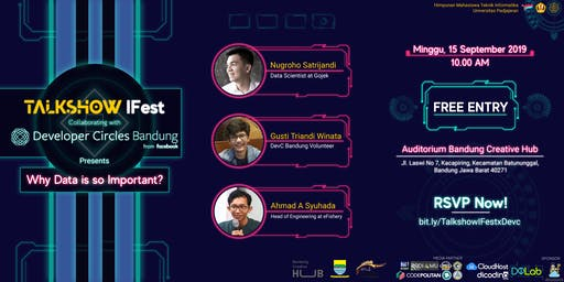 "Talkshow ""Why Data is So Important?"""