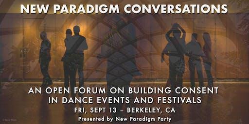 New Paradigm Conversations ~ 9/13