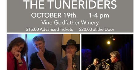 VINO GODFATHER PRESENTS THE TUNERIDERS tickets