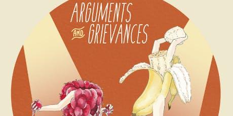 Arguments & Grievances Comedy Debates tickets