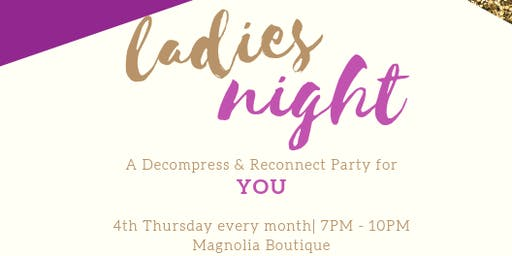 Sip & Style: Ladies Night
