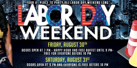 Labor Day Weekend Friday tickets
