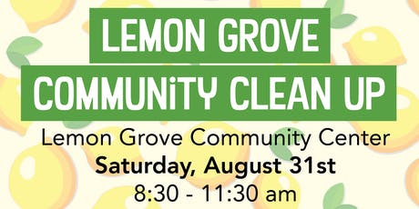 Lemon Grove Community Clean Up tickets