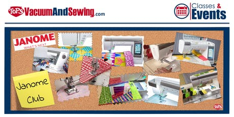 Janome Sewing Machine Club | Lakewood Ranch tickets