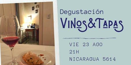 Vinos & Tapas - Degustación entradas