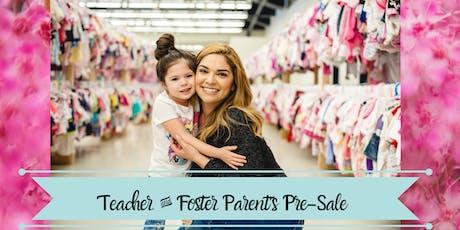 Teacher & Foster Parent Presale Tickets - Fall 2019 tickets