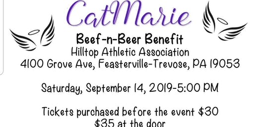 CatMarie Beef-n-Beer