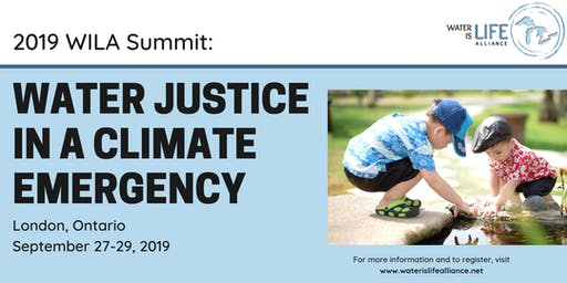 2019 WILA Summit: Water Justice in a Climate Emergency