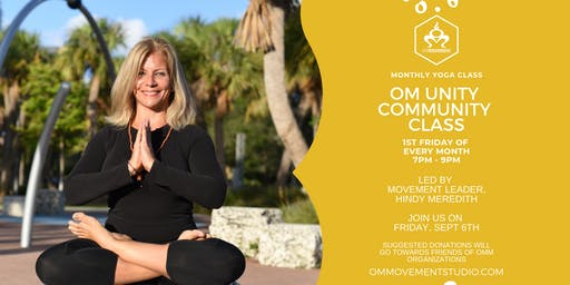 OM Unity Community Yoga Class with Hindy Meredith