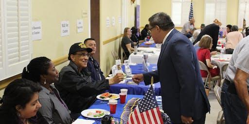 Rep. Carbajal Veteran's Breakfast in Lompoc
