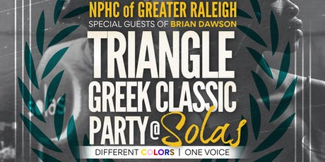 Triangle Greek Classic Party tickets