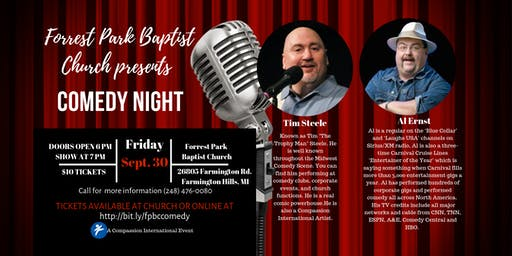 Forrest Park Baptist Church  Comedy Night
