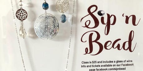 Sip 'n Bead tickets