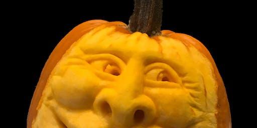 Pumpkin Carve n' Sip: Saturday October 12